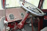 Old Fire Truck Dashboard