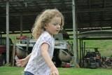 Cloe Chasing Bubbles