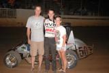 6-27-09 Placerville Speedway , BCRA Midgets , Midget Lites , Wingless Sprints