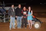 4-12-08 BCRA Midgets , BCRA Midget Lites , Spec Sprints Placerville Speedway