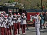 The Band Played Christmas Carols