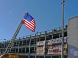 Fire Department Flies a Garrison Flag