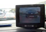 rear video monitor on a wrecker