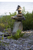 cairn in oblique view