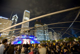 stars of the lyric opera perform for a welcoming Chicago audience in Millennium Park