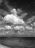 causeway beach clouds