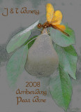 Amberwing Pear Wine Label
