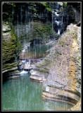 Through the Falls