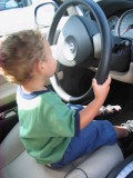 I love to drive cars...