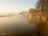 Morning Mist over the River Great Ouse at Huntingdon