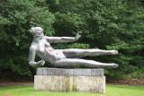 Sculpture garden at Kröller-Müller Museum