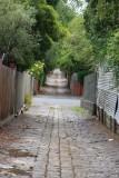 Back alley in Kew