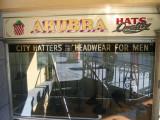 The famous hat shop at Flinders street Station