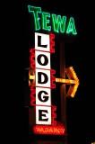 Tewa Lodge Sign