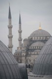 Istanbul Blue Mosque Domes