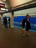 Waiting for the Red Line