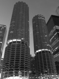 Marina Towers Black and White