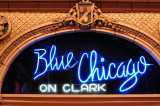 Blue Chicago on Clark.