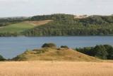 Fussingø sø  220 ha. 30 meter dyb