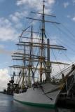 Skoleskibet Danmark ( The Training Ship Danmark )   På besøg i Randers 2008