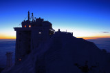 Observatory before sunrise