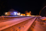 Dolny Harmanec train station