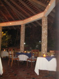 Dining at Shirvan Watermill Restaurant - very quiet and quaint