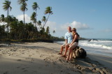 Boog and Aimee - A beach in Trinidad
