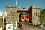 Chris and I at the entrance