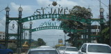 Entrance to St. James area of Port of Spain
