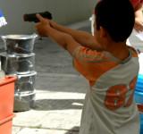 Shirt of kid-robber