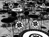 Shadows on bar
