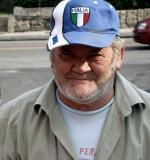 Old man Italia