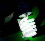 Light on green