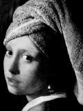 Vermeer - Girl with a towel - Italian adversting