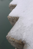 Snow on the parapet