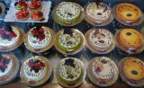 Cakes in perfect Order & Chaos in my taste buds ........