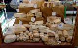 Crusts of Italian cheese
