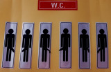 This is certainly a W.C. just for men