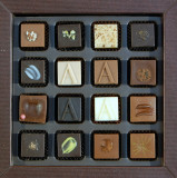 Armani chocolates