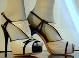 Whitish shoes