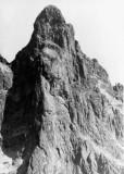 Face Nord-Ouest directe du Petit Pic d'Ossau, 26 Aout 1973