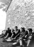 Mars 1961-De gche à dte : 2 Nantais, puis Hervé, Christian Boiseaux, Jean et François