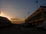 Sunset over the old terminal