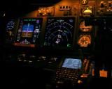 737 nightcockpit