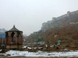 The Old English Fort in Kabul and a part of the cemetery