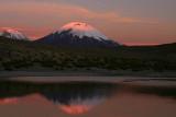 Parinacota sunset 3