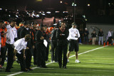 coaches on the sideline