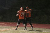 tyler and nick celebrate touchdown