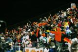 fans celebrate the final touchdown of the season